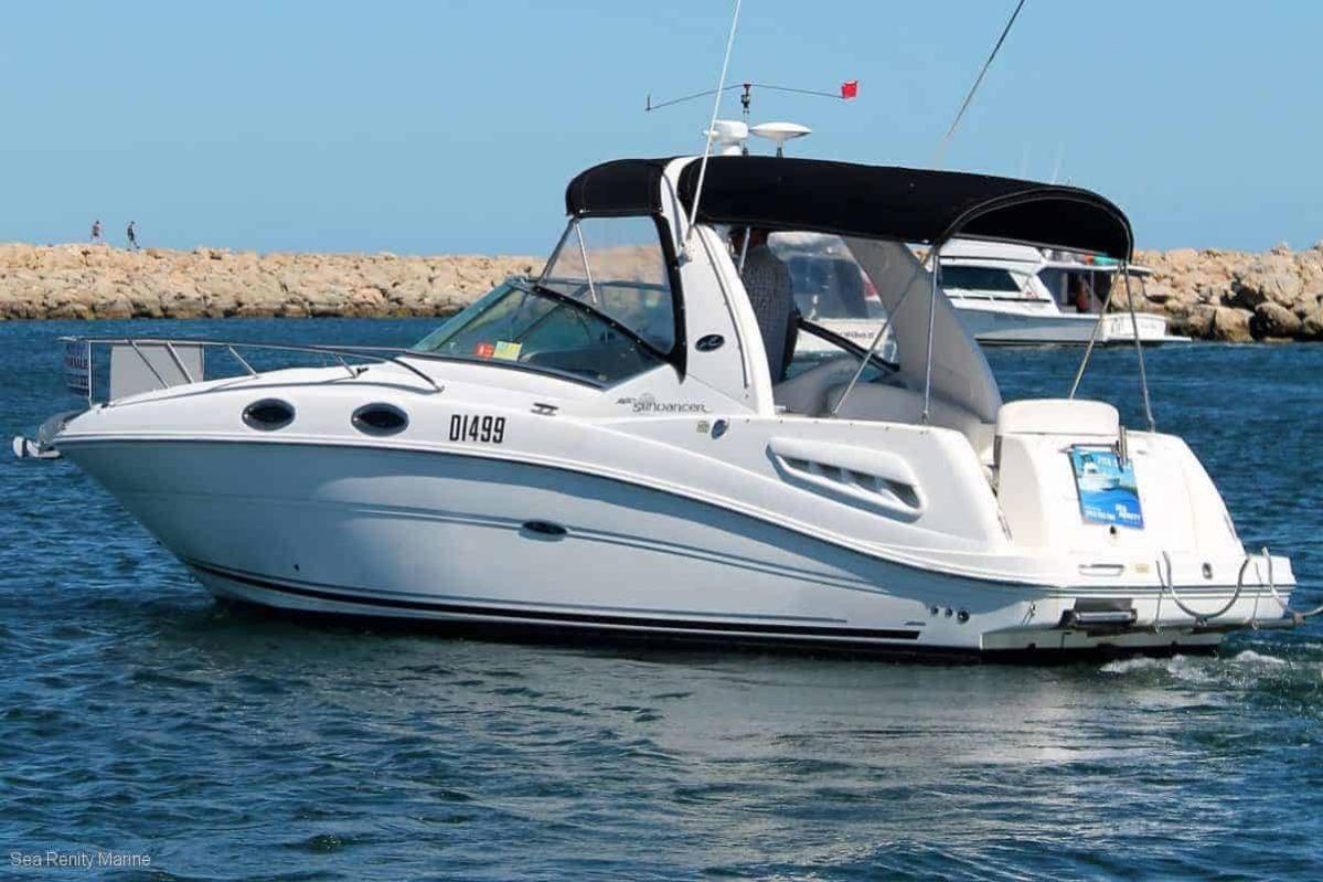 Sea Ray 260 Sundancer Sea Renity Marine Boat Brokerage In Perth
